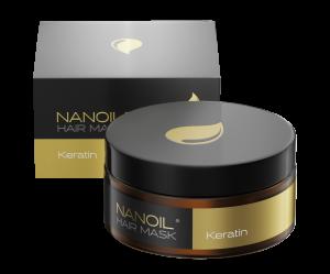 Nanoil Haarmaske mit Keratin – die beste Serum-Maske für strapazierte Haare